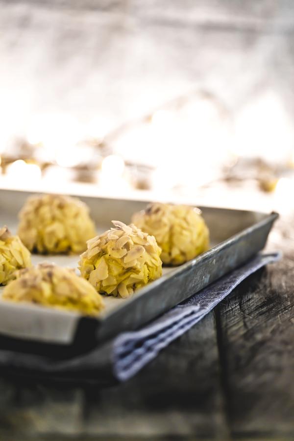 Bonbon di patate cotechino e lenticchie - Potatoes bonbon with lentils and cotechino