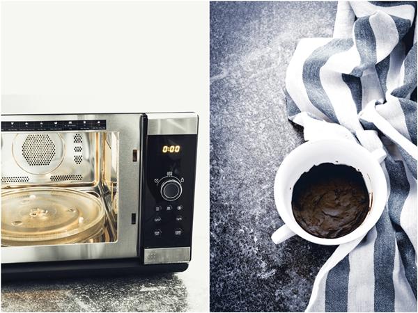 Brownie al microonde - Microwave brownie recipe