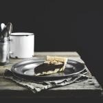 Frolla alle nocciole con crema di cioccolato profumata all'arancia - Hazelnut pastry tart with chocolate and orange cream