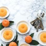 Gelatina di Prosecco e clementine - Clementine & prosecco jelly