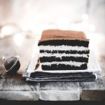 Torta a strati al cacao e rum - Chocolate rum layer cake