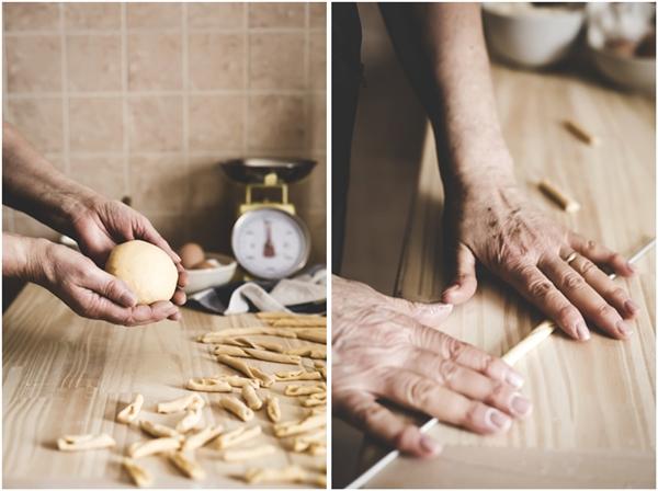 pasta fatta in casa - maccheroncini al ferretto - pasta al ferretto - pasta calabrese - #storiedicucina - home made pasta - Italian pasta - Italian recipe