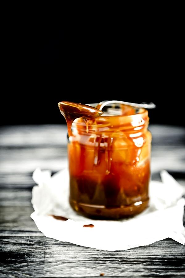 salsa al caramello salato - salsa al caramello - salted caramel sauce - caramel sauce