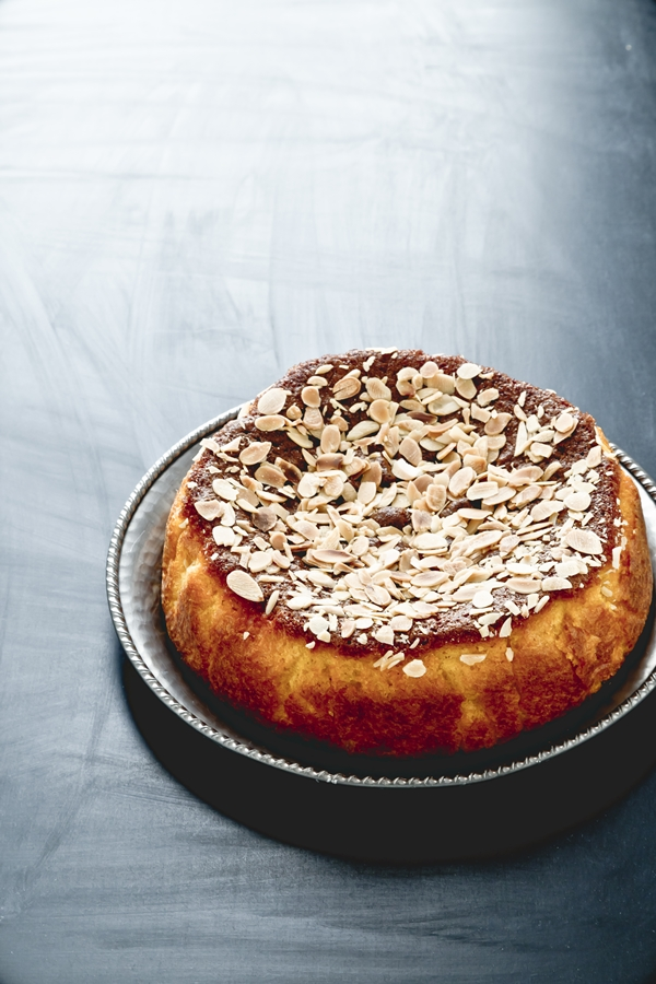 Torta di mais con mandorle e arance - Torta mandorle e arance - Cornflour, orange and almond cake recipe