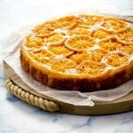 torta rovesciata di clementine - clementine upside down cake