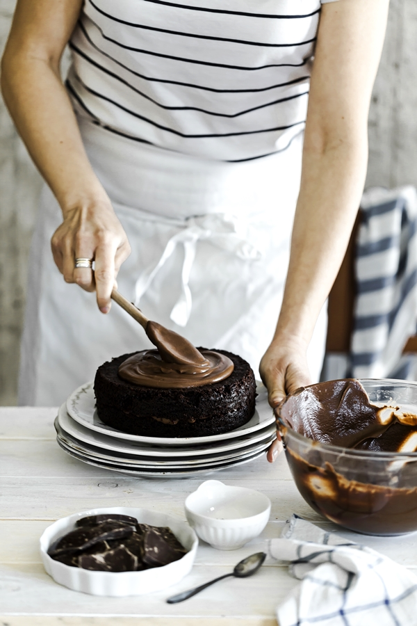 Brooklyn blackout cake - Torta al cioccolato a strati - Chocolate layer cake