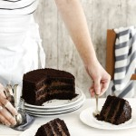 Torta al cioccolato a strati - Brooklyn blackout cake - Chocolate layer cake