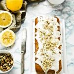 cake limone e pistacchi - plumcake al limone - Lemon and pistachios cake recipe