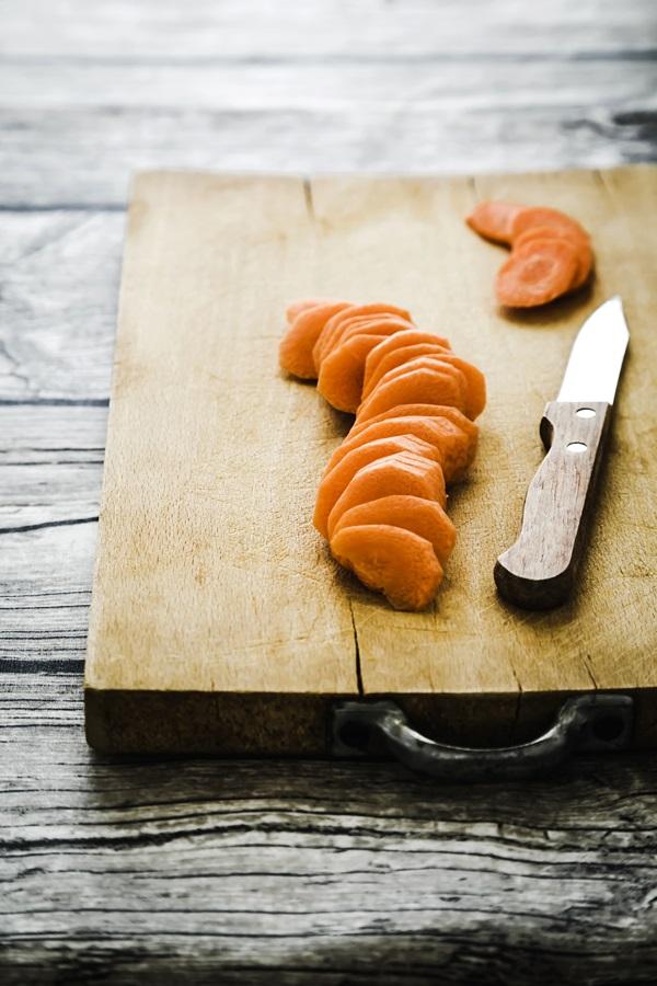 tart rovesciata di carote - tart capovolta di carote e brie - Upside down carrot tart - Upside down carrot tart recipe