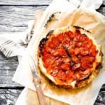 tart rovesciata di carote - Upside down carrot tart recipe