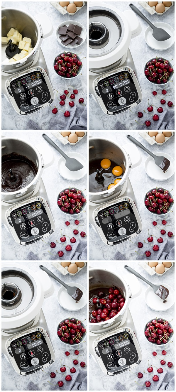 brownies alle ciliegie - cherry brownies