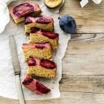 torta capovolta di prugne - upside down plum cake - upside down cake - torta di prugne