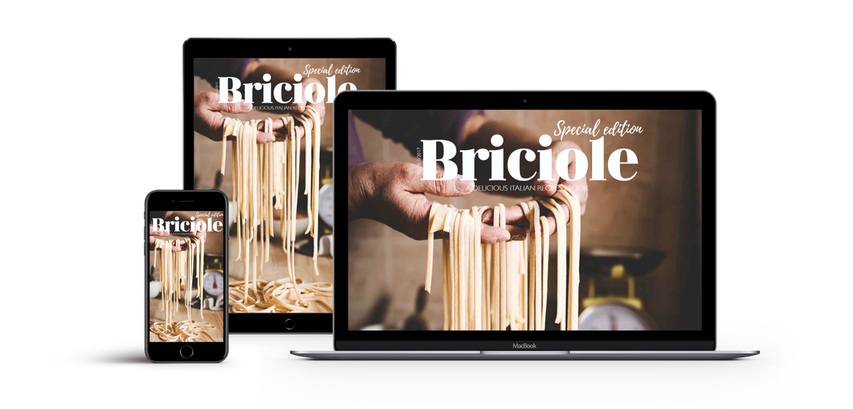 OPSD SHOP - BRICIOLE RECIPES EBOOK - SONIA MONAGHEDDU