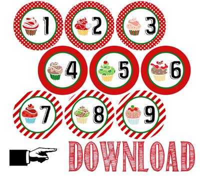 free printable - calendario avvento - advetn calendar free printables - freebie - OPSD