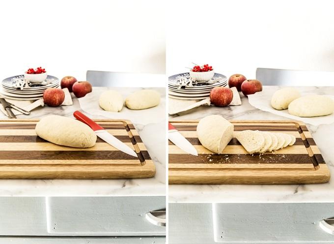Baicoli cioccolato e frutta secca - Italian cookies with chocolate and dried fruit