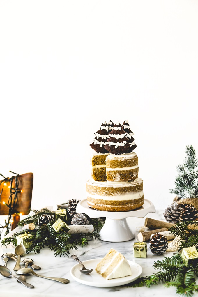 torta al caffè - coffee layer cake - christmas cake
