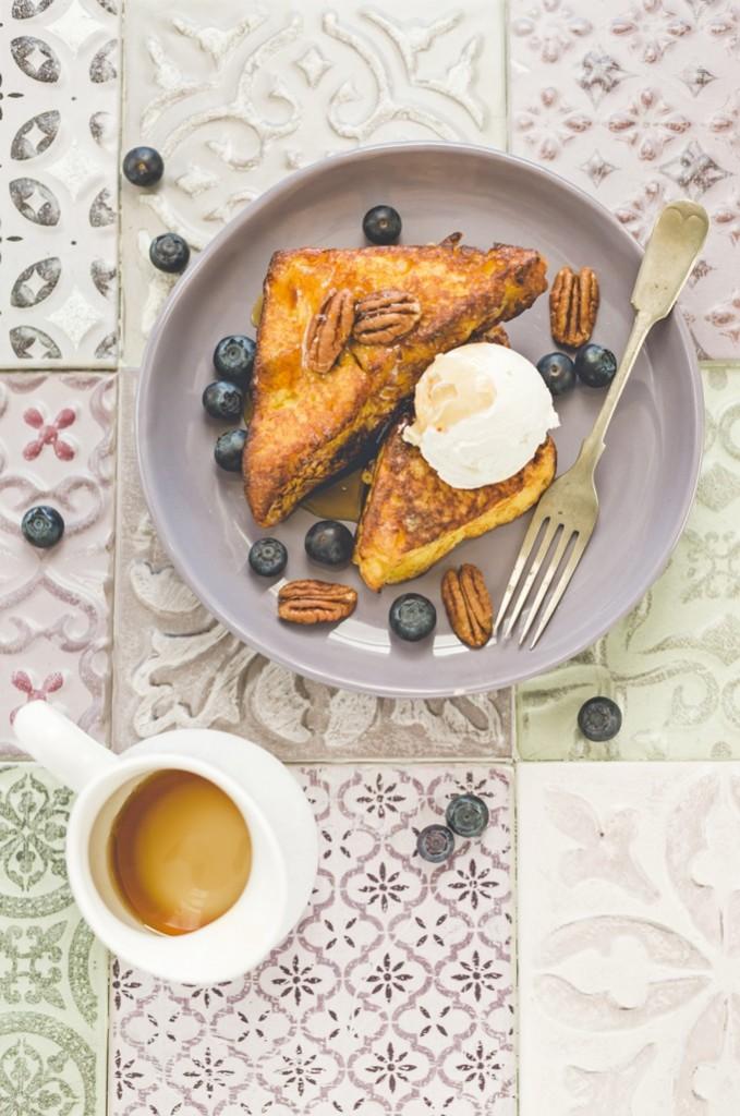 french toast panettone - french toast - panettone