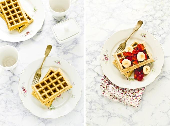 waffles integrali - Whole Wheat Waffles - opsdblog