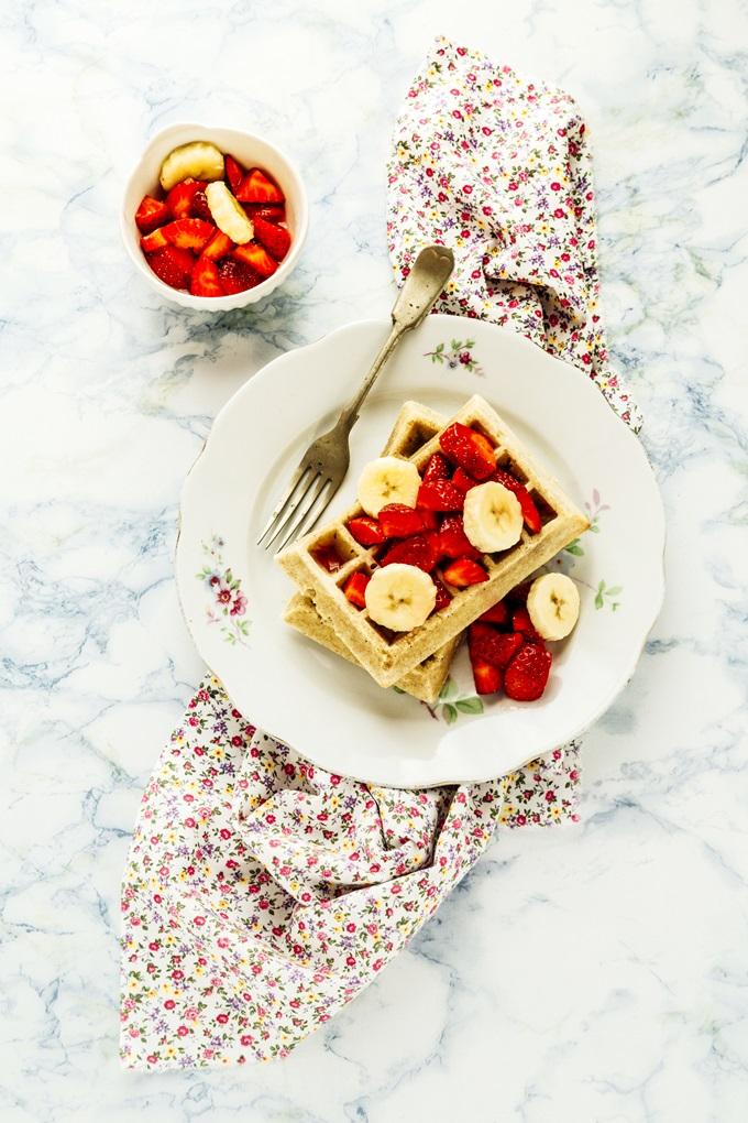 waffles integrali - Whole Wheat Waffles recipe - opsdblog
