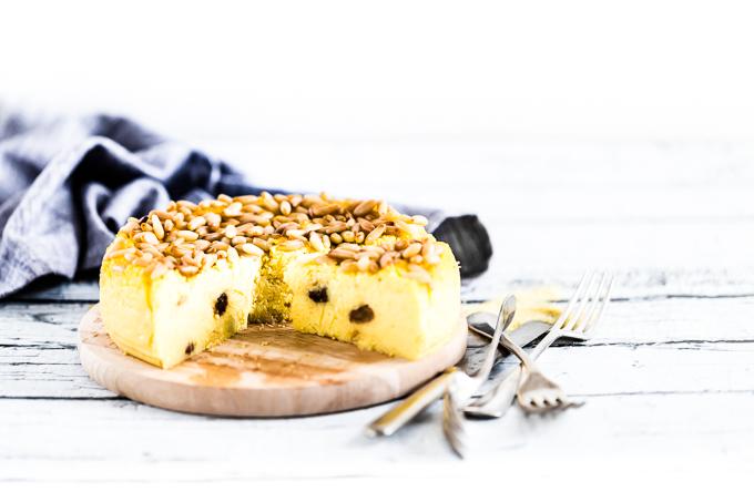 Corn flour ricotta cake - Polenta cake - Ricotta cake - Polenta ricotta cake - torta di di polenta e ricotta - torta di polenta - torta di ricotta