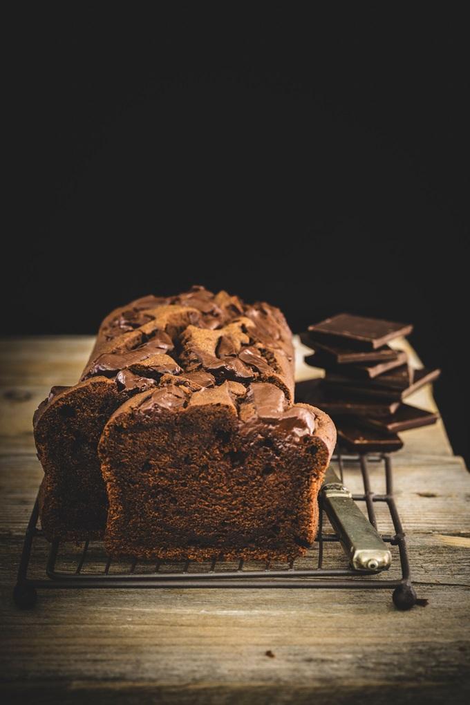 chocolate cream cheese cake - torta al cioccolato e formaggio - torta al cioccolato - plumcake al cioccolato - chocolate pound cake