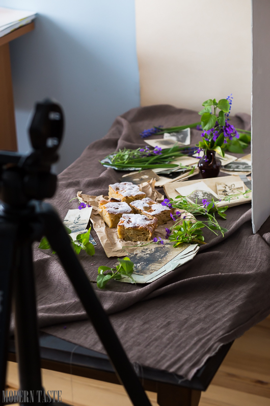 BEHIND THE SCENES - FOOD PHOTOGRAPHY TUTORIAL - HOW TO - FOOD BLOG: MODERN TASTE - DIETRO LE QUINTE - FOOD BLOG