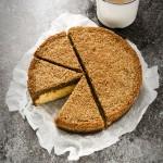 Danish Dream Cake - Drømmekage - Danish cake - Torta danese - Torta cocco