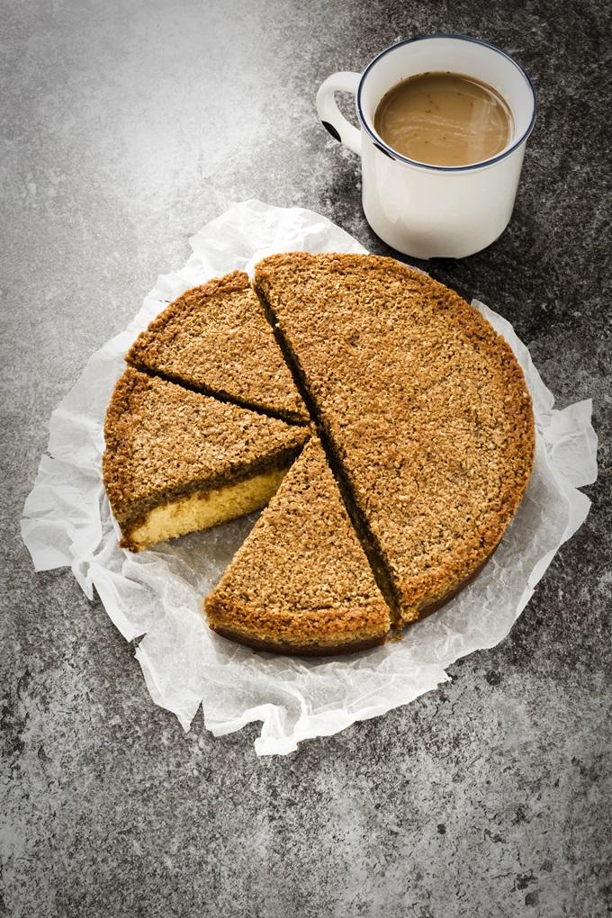 Danish Dream Cake - Drømmekage - Danish cake - Torta danese - Torta cocco - Torta sogno danese