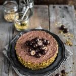 No-bake chocolate hazelnut cheesecake - no-bake chocolate cheesecake - no bake cheesecake - cheesecake senza cottura cioccolato e nocciole - cheesecake senza cottura - cheesecake cioccolato - cheesecake nocciole