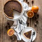crostata alle nocciole e cioccolato - chocolate hazelnut tart - opsd blog