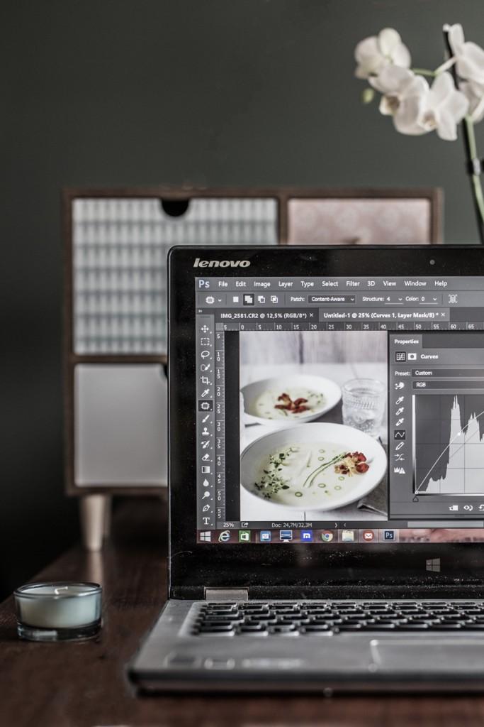 behind the scenes - dietro le quinte - dietro le quinte dei food blog - food photography tutorial - guest post - Mesa Corrida - OPSD blog