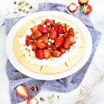 crostata di fragole - tart di fragole - tart di shortbread alle fragole - orange shortbread wedges with strawberry - petticoat tails - shortbread with strawberries - shortbread tart - shortbread wedges - strawberry tart