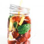 acqua aromatizzata - acqua aromatizzata lamponi - acqua aromatizzata alla frutta - fruit infused water - fruit water - aromatic water - opsd