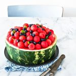 ricetta torta di anguria - watermelon cake recipe