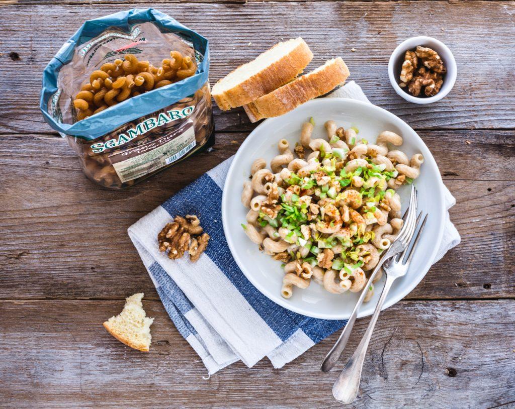 cellentani - cellentani al gorgonzola - pasta al gorgonzola - pasta integrale - italian pasta recipe - pasta with gorgonzola dolce - pasta with gorgonzola