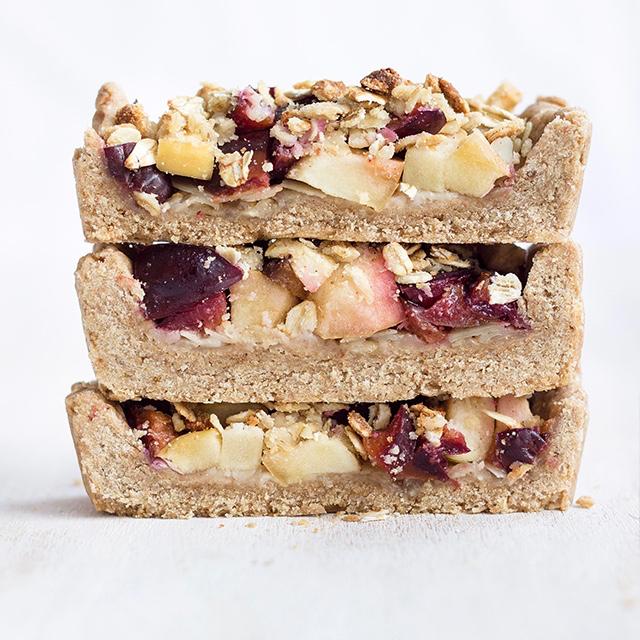 crostata di prugne - ricetta vegana - vegan tart recipe - vegan tart - Guest Post OPSD blog