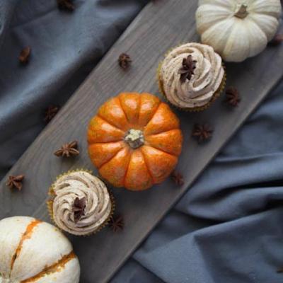 cupcake alla zucca - pumpkin cupcake