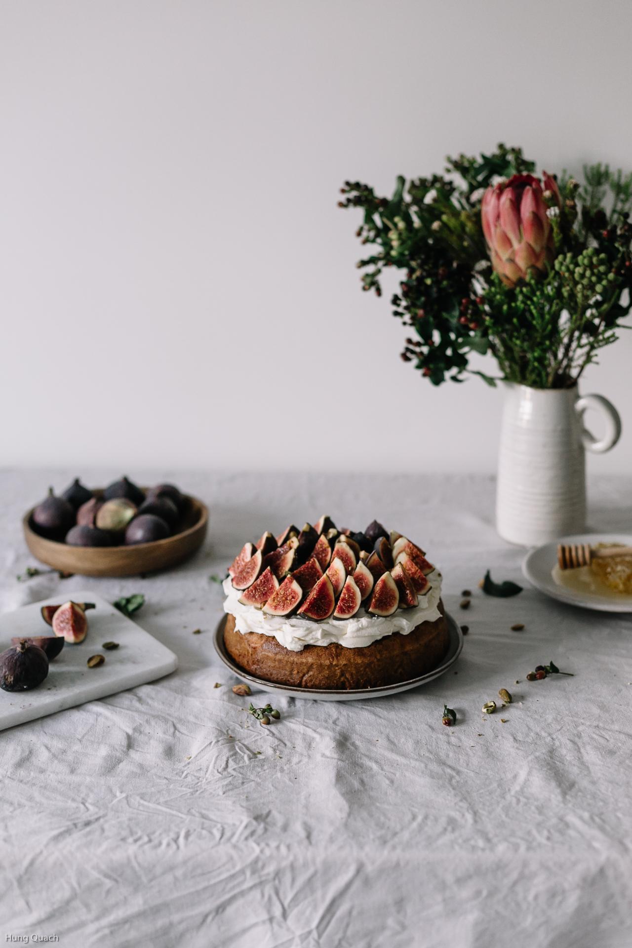 OLIVE OIL & ORANGE CAKE - TORTA ALL'OLIO D'OLIVA E ARANCE - OPSD blog - Guest Post - Jet and Indigo food blog - Guest Post for OPSD blog