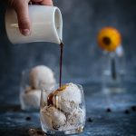 Spiced ice cream affogato - affogato speziato alla panna - affogato affogato recipe - OPSD blog - food styling - food photography - © sonia monagheddu