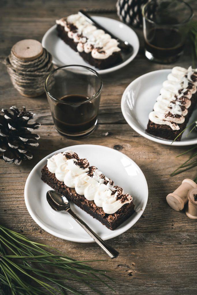 brownie tiramisu - brownie - tiramisu - dessert - Ricette Bake Off Italia - Elettrodomestici Electrolux - opsd blog