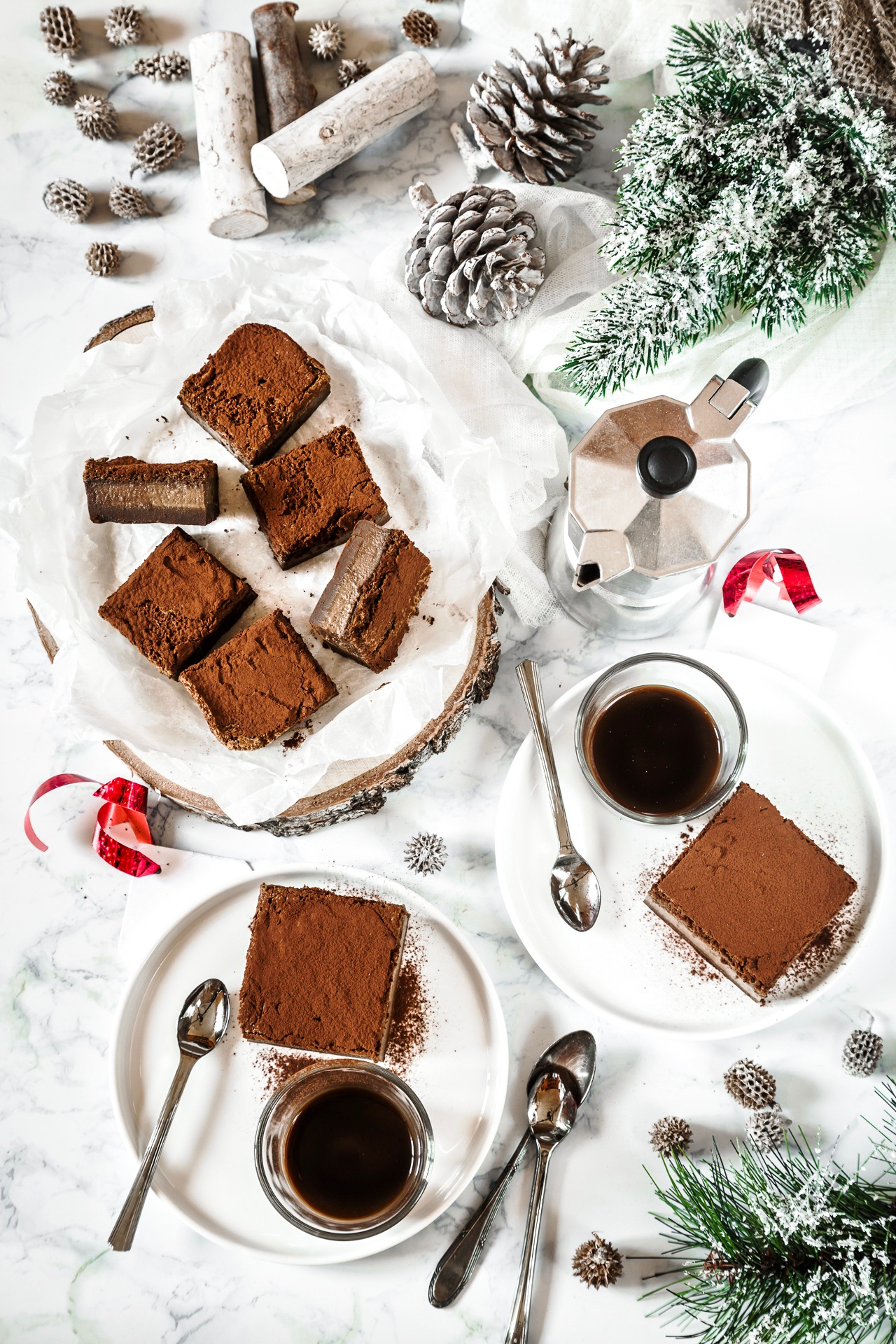 torta magica al caffè e cardamomo - torta magica al caffè - coffee magic cake recipe - coffee and chocolate magic cake recipe - dessert recipe