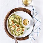 Pasta with smoked salmon and cream dill sauce - pasta recipe - bigoli all'aneto e salmone - Sgambaro - OPSD blog