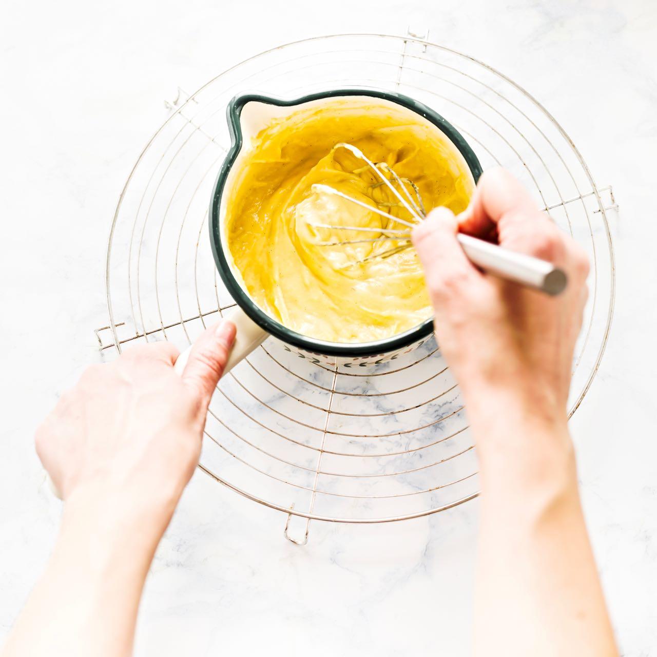 crema pasticcera - come fare la crema pasticcera - ricetta crema pasticcera - custard cream recipe