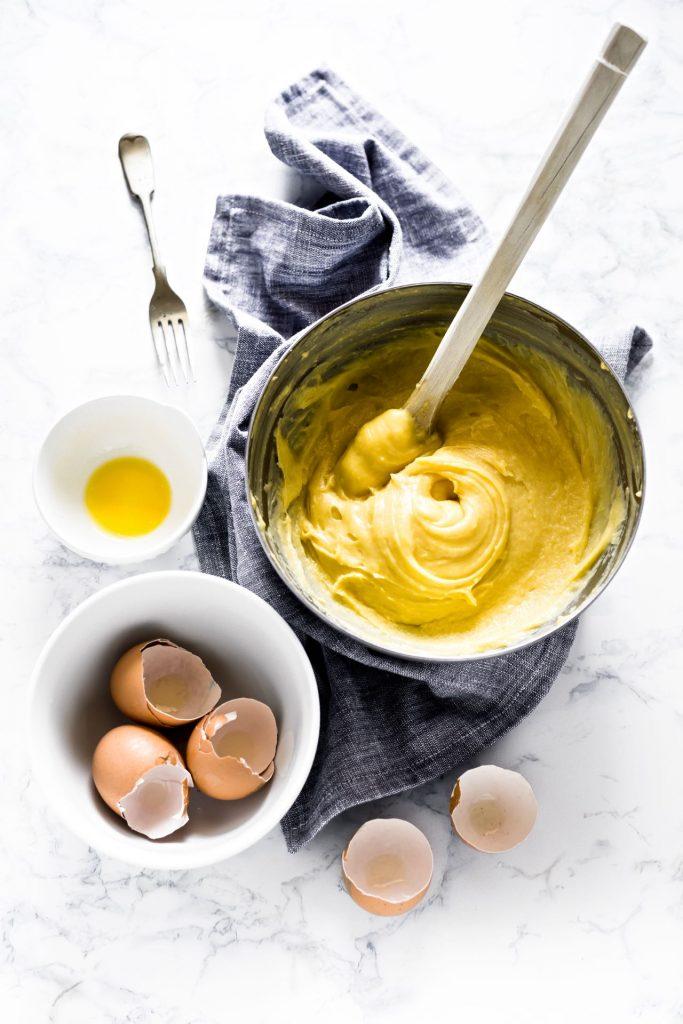 zeppole san giuseppe - crema pasticcera alla vaniglia - cream puff pastry - Choux Pastry - Pate a Choux - opsd blog
