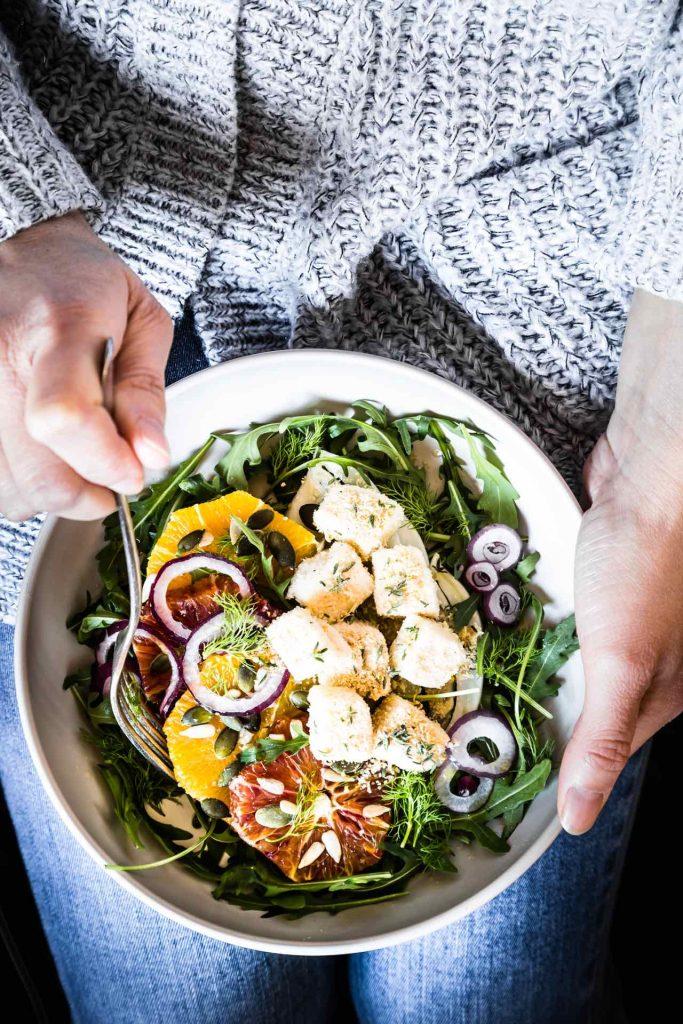 Insalata di arance, finocchi e mozzarella - Mozzarella - Granarolo Oggi Puoi - Alimentazione sana - food photography - food styling - opsd blog - sonia monagheddu