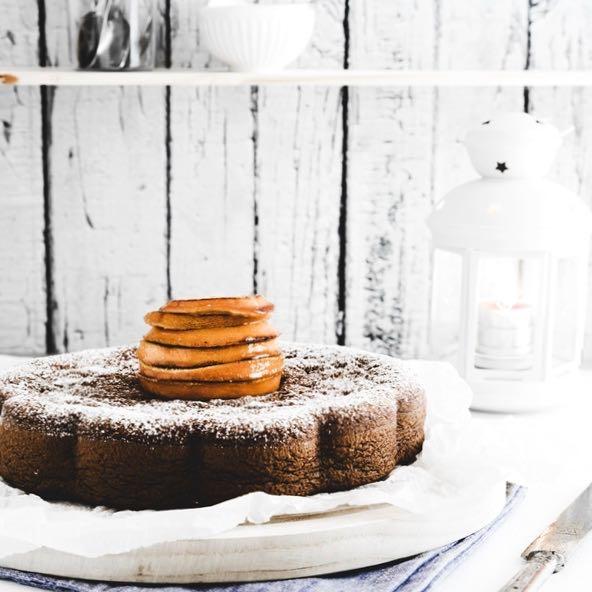 torta morbida cioccolato e arance