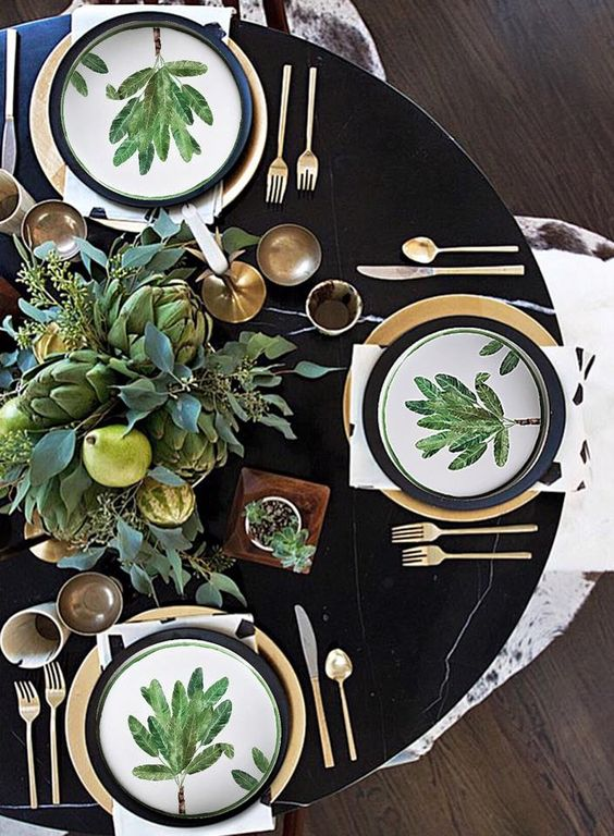 STILE JUNGALOW: COLORE E ALLEGRIA IN TAVOLA - TABLE SETTING - GUEST POST - OPSD BLOG