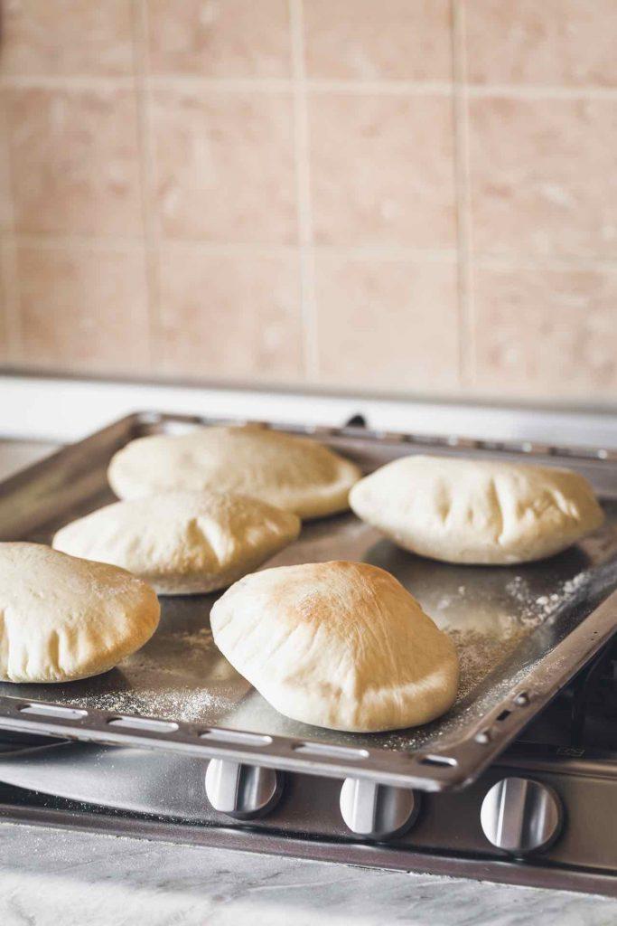 PANE PITA - PITA BREAD - OPSD blog - food styling - food photography - © - sonia monagheddu