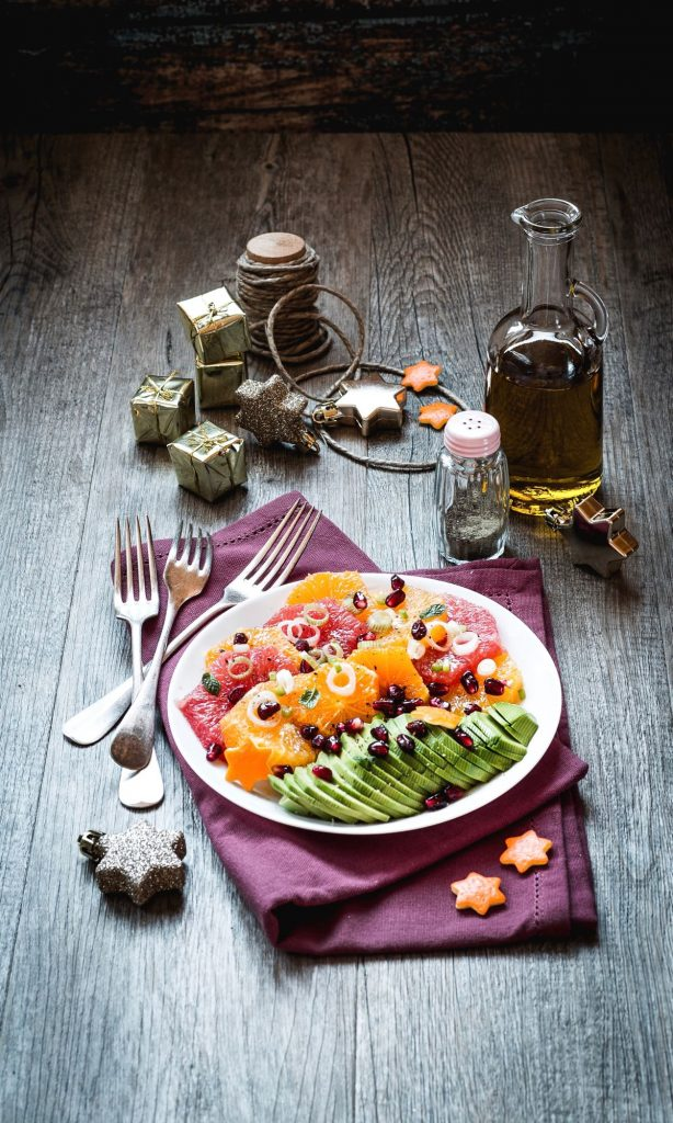 Salad with avocado and citrus fruits - Insalata di agrumi e avocado - insalata - salad - avocado salad - insalata di avocado - citrus salad - insalata di agrumi - food photography - food styling - sonia monagheddu - OPSD blog