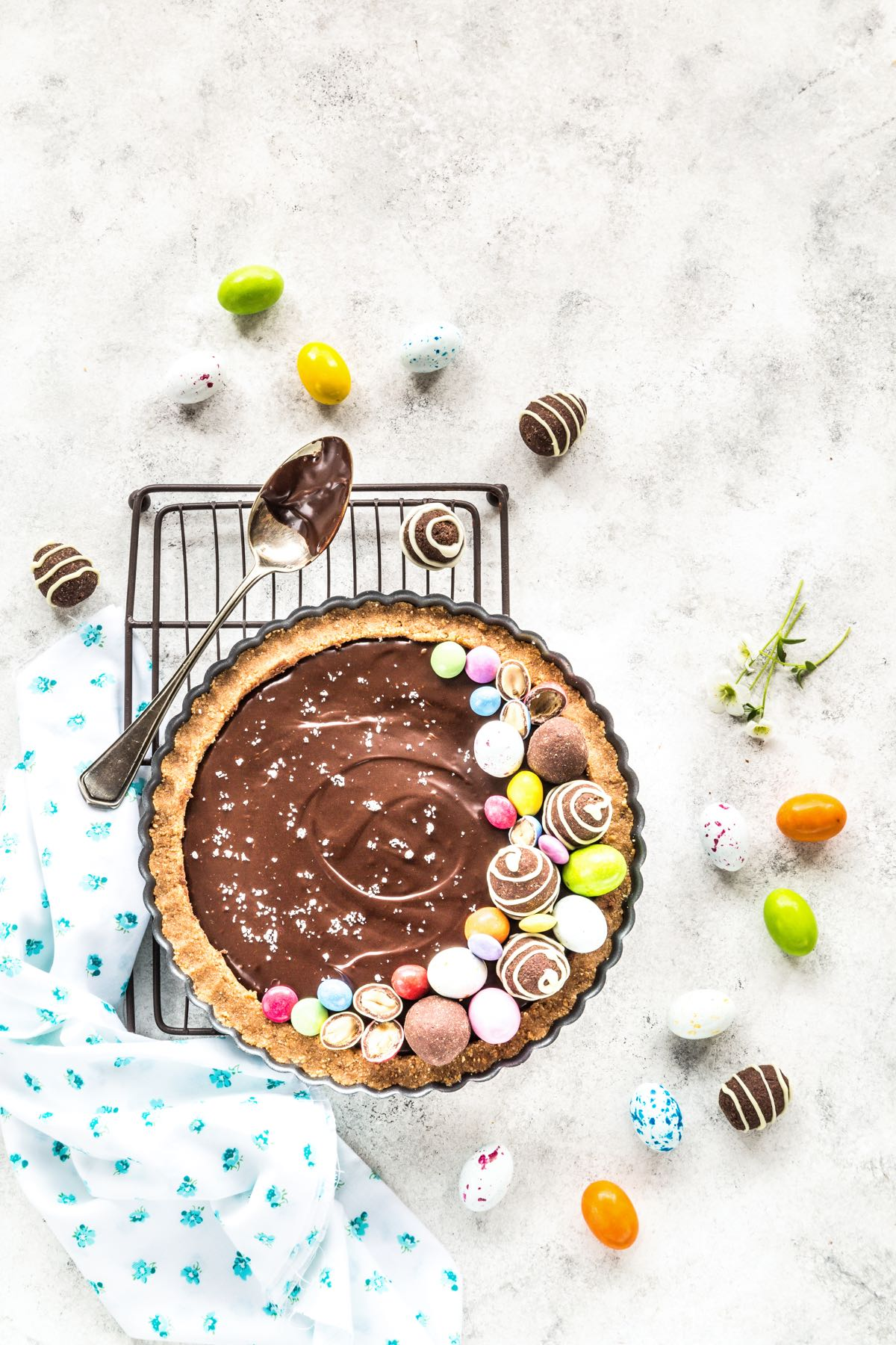 TART AL CIOCCOLATO E CARAMELLO SALATO - CHOCOLATE SALTED CARAMEL TART RECIPE - FOOD PHOTOGRAPHY - FOOD STYLING - SONIA MONAGHEDDU - OPSD BLOG